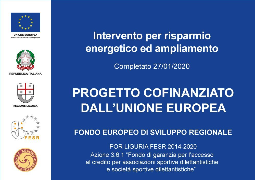 Progetto cofinanziato dall' Unione Europea